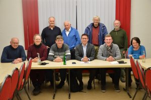 Gruppenfoto Mitgliederversammlung SPD Gemünden