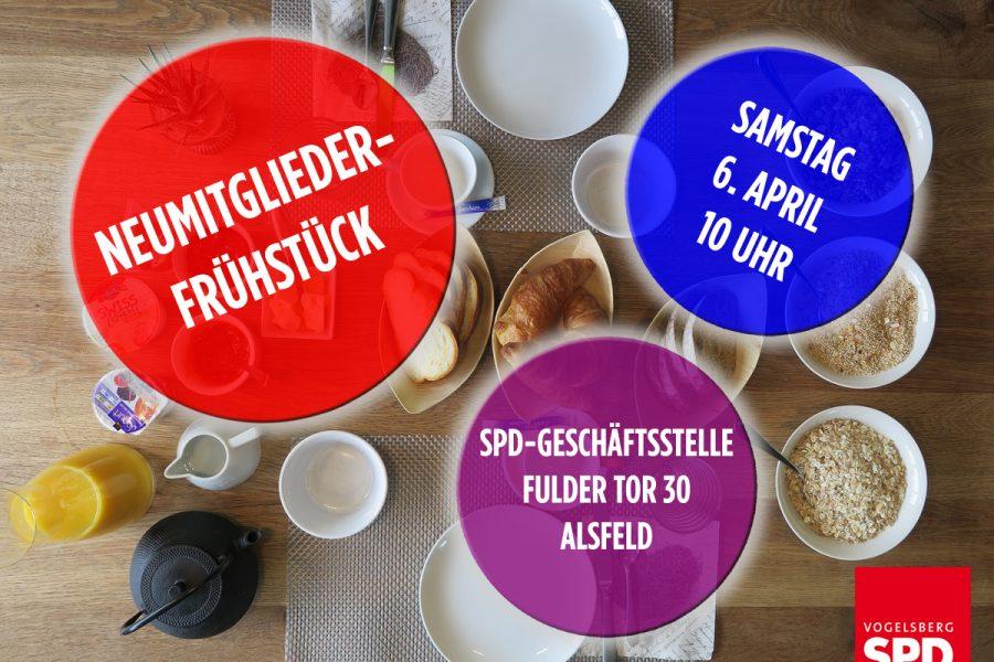 Neumitgliederfrühstück der SPD Vogelsberg