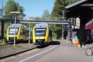 Vogelsbergbahn Bahnhof Mücke