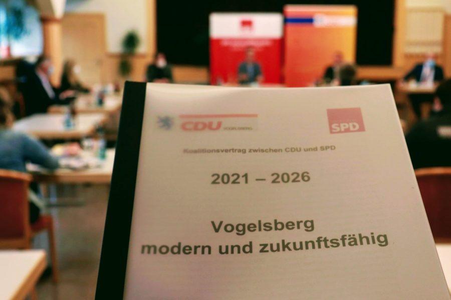 Koalitionsvertrag CDU-SPD Vogelsbergkreis 2021-2026
